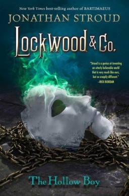 Lockwood and Co. The Hallow Boy by Jonathan Stroud.