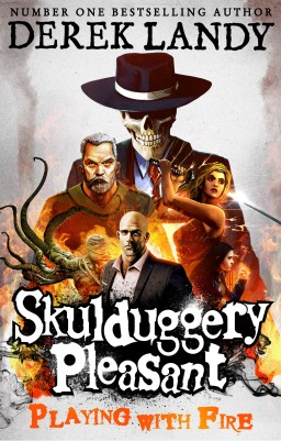 Skulduggery Pleasant-Playing with Fire